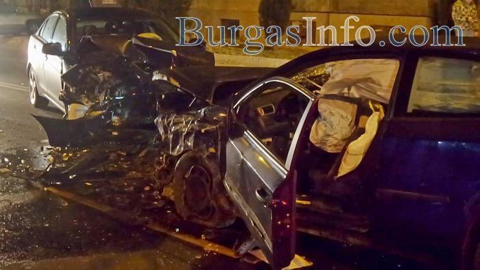 Катастрофа на бул.Иван Вазов