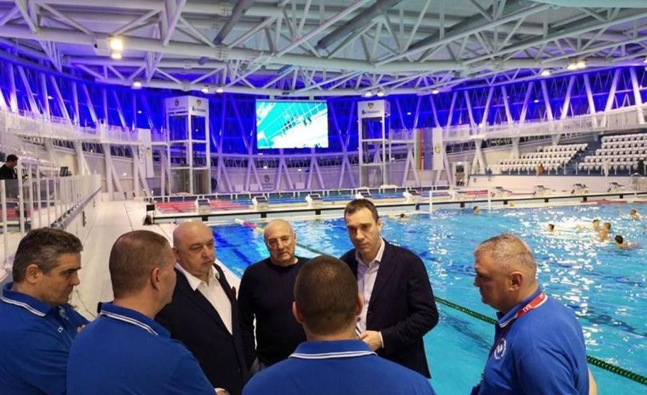 648a88ca5ef Министърът на младежта и спорта Красен Кралев проведе работна среща с кмета  на Бургас Димитър Николов.